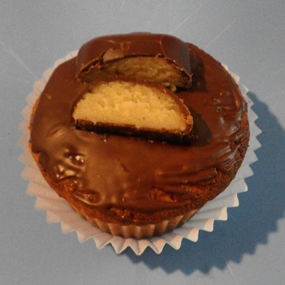 Apfel – Marzipan Muffins